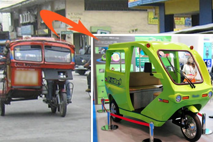 e-trikes to replace tricycles