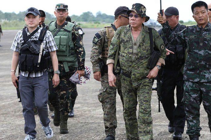 Duterte will not declare Martial Law