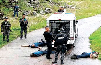 guihulngan ambush of 6 policemen