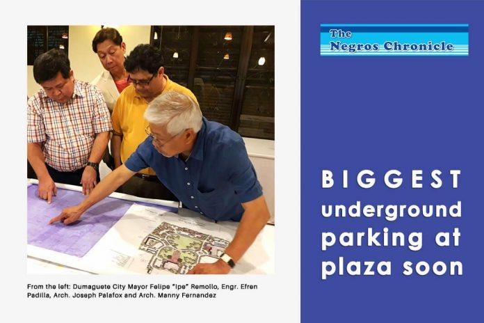 Biggest Underground Parking at Plaza Soon