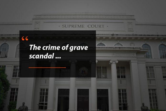 Grave Scandal