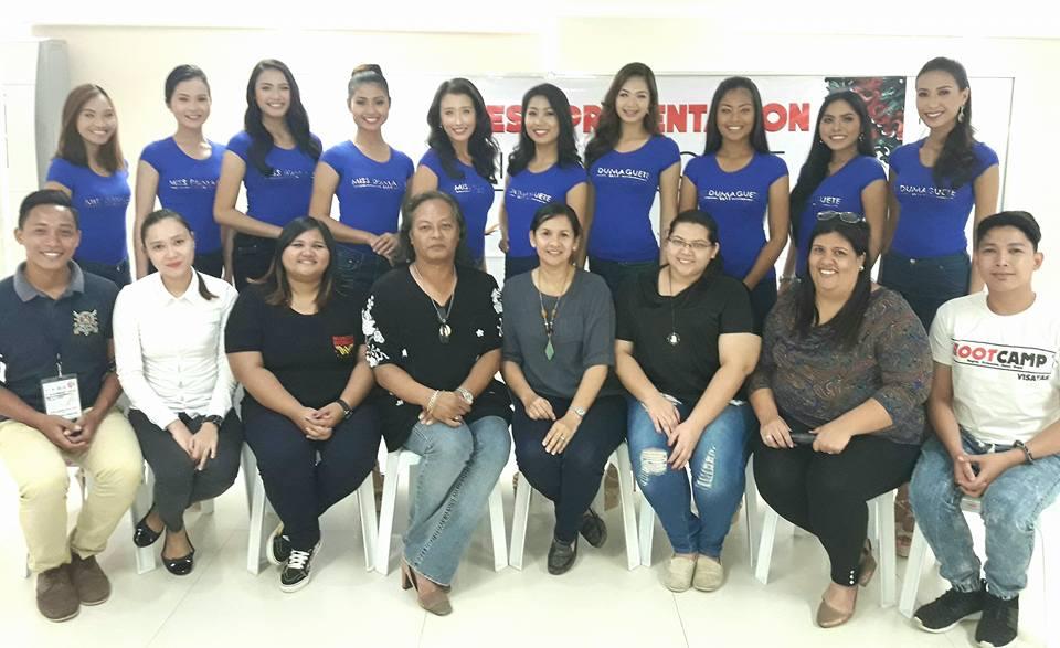 Miss Dumaguete 2017 press presentation 2