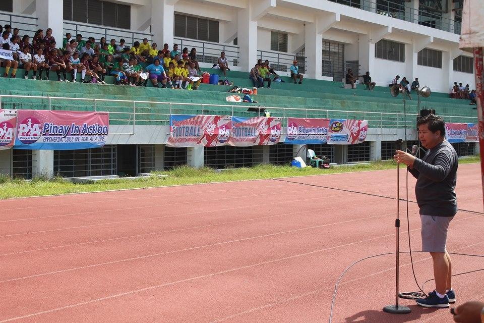 Mayor Ipe Remollo in Pinay in Action Kick off
