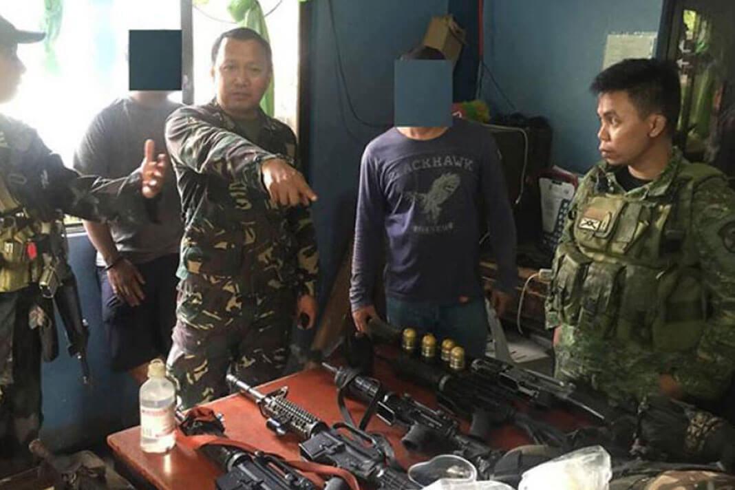 Six NPA Members Dumaguete Negros Oriental