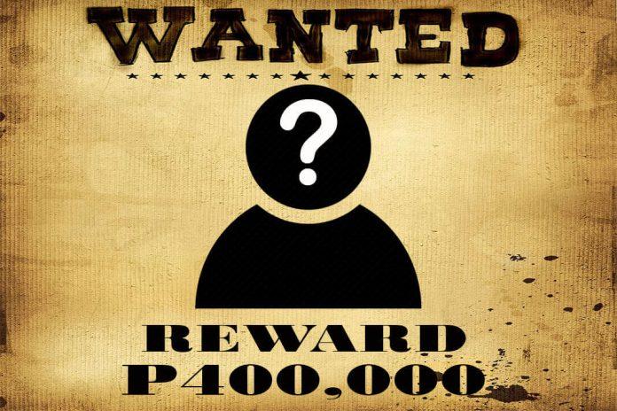Duterte, LGUs raise P400,000 bounty